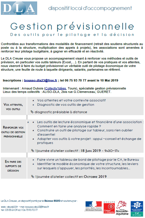 programme Collectif gestion previsionnelle